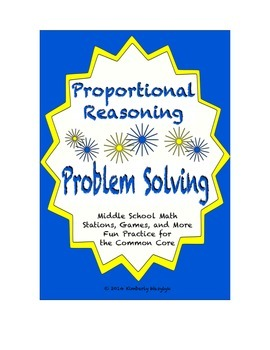 Common Core Math Stations and Games - Problem-Solving & Pr
