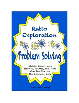 Common Core Math Stations and Games - Problem-Solving Rati