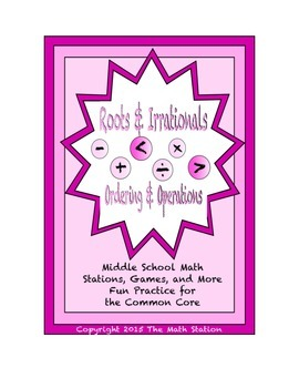 Common Core Math Stations and Games - Ordering & Operation