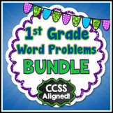 Word Problems - 1st Grade