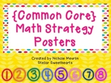 {Common Core} Math Strategy Posters