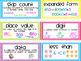 Common Core Math Vocabulary Cards 2nd Grade {Mini}