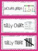 Common Core Math Vocabulary cards {2nd grade}
