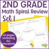 2nd Grade Math Warm Up/ Morning Work- Set 1