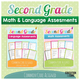 Second Grade Assessments Common Core Math and Language