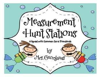 Common Core Measurement Hunt