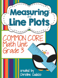 Measurement and Line Plots Math Unit