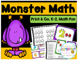 Common Core Monster Math