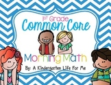 Common Core Morning Work