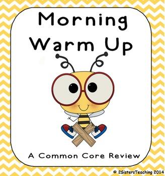 Common Core Morning Math-Interactive SMARTBoard Activity