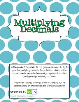 Multiplying Decimals Practice