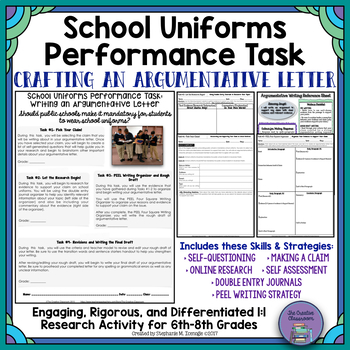 School Uniforms Debate: Real-World Argumentative Writing P