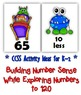 Number Sense: Number Cards to 120, Little Monsters w/Activities