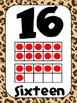 Common Core Number Posters: Full Size & Half Size {Jungle Theme}