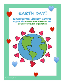 Common Core & Ontario Curriculum Aligned EARTH DAY Kinderg
