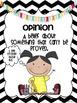 Common Core Opinion Writing