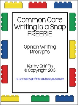 Common Core Opinion Writing is a Snap