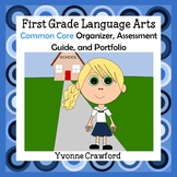 Common Core Organizer, Assessment Guide & Portfolio 1st Gr