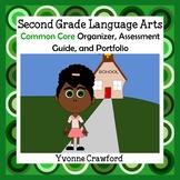 Common Core Organizer, Assessment Guide & Portfolio 2nd Gr