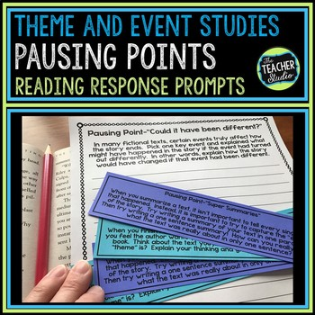 """Common Core """"Pausing Points"""" Reading Reflections:  Theme a"""