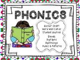 Common Core Phonics Bundle -Digraphs Blends Phonics Rules