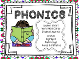 Common Core Phonics Bundle -Digraphs Blends Phonics Rules