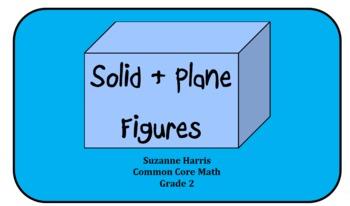 Common Core Plane Solid Figures -Common Core Framework