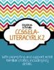 Common Core Poster Packet {Kindergarten Reading: Literature}
