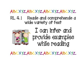 Common Core Power Standards - 4th Grade Literacy