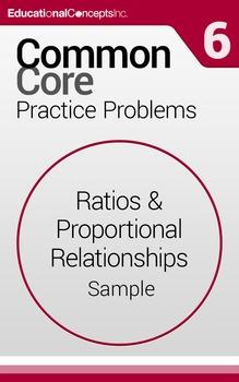 Common Core Practice Problems Grade 6 Ratios & Proportiona
