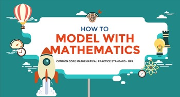 FREE! Common Core Mathematical Practice MP4 (Model with Ma