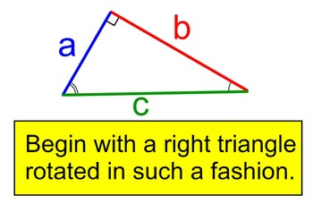 Common Core Pythagorean Theorem Proof Geometry and Algebra