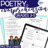 Poetry - Reading Test Prep - Common Core Aligned - grades