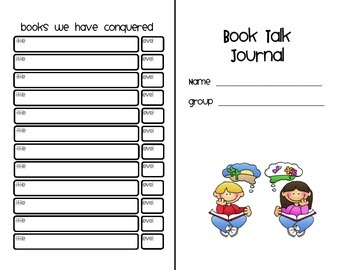 Common Core Reading Journal