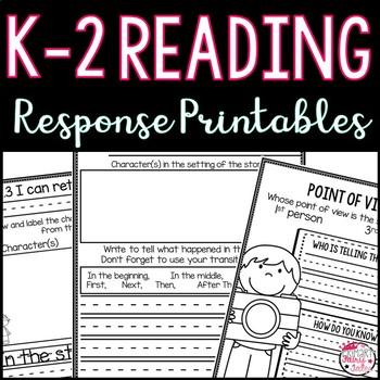 Common Core Reading Responses (K-2)