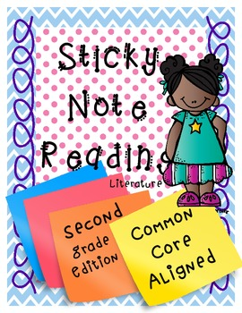Common Core Reading Sticky Notes *2nd Grade Edition*
