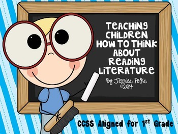 Common Core Reading:  Teaching 1st graders how to think ab