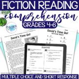 Reading Comprehension Test Prep - Fiction - grades 4-6 - C