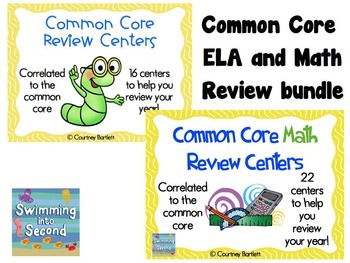 Common Core Review bundle (includes ELA and Math)