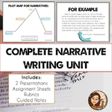 Narrative Writing Unit: Short Stories, Literacy Narratives