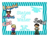 Common Core: Science Standard: States of Water
