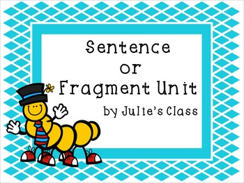 Common Core Sentence/Fragment Unit