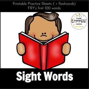 Kindergarten Common Core Sight Word Bundle