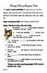 Common Core 6th Grade Homework Packet #16