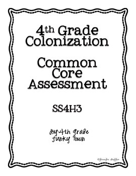 Common Core: Social Studies: Explorers Common Assessment