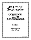 Common Core: Social Studies: Geography Common Assessment