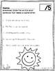 Common Core Standard Language Arts Assessment 1.L.2 (1.L.2a)