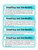 Common Core Standard Math Posters and Checklist (Kindergarten)