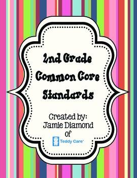 Common Core Standards- 2nd Grade