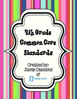Common Core Standards- 4th Grade